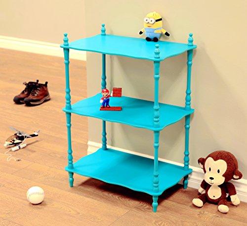 Frenchi Home Furnishing Kid's 3-Tier Shelves, (3 Tier Etagere)