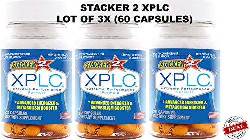 3 Bottles of Stacker 2 XPLC Extreme Performance Formula