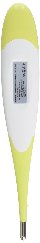 Termómetro Clínico Este Termómetro Oral, Termómetro Rectal y Termómetro Axilar es un Termómetro Médico Digital de Fiebre Para Adultos Bebés y Bebé Lectura ...