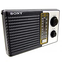 Sony ICF-F10 Radio de transistor de batería portátil de 2 bandas FM /AM