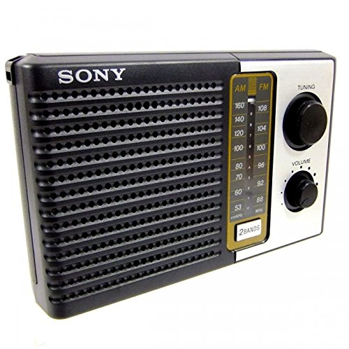 Sony ICF-F10 FM/AM Portable Transistor Radio