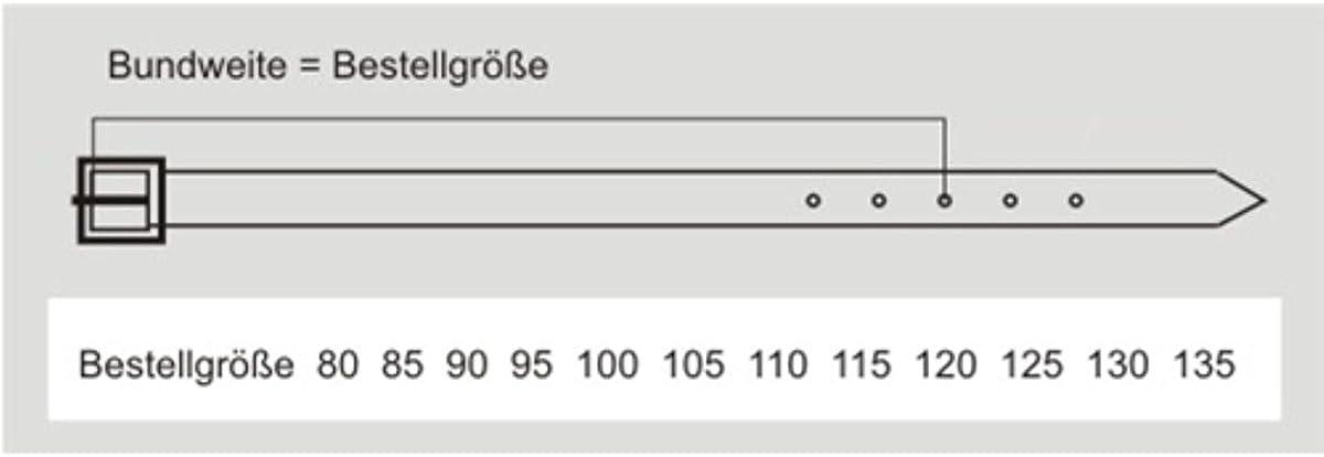 """k/ürzbar Pierre Cardin Lederg/ürtel /""""P/""""-Logo auf der G/ürtelspitze eingepr/ägt Altsilberschlie/ße -1070085-080 Gewaschenes Vollrindleder mit Kanteneffekt Farbe terracotta 40 mm breit"""