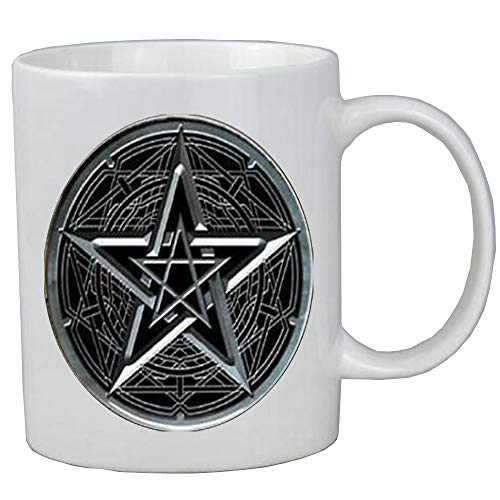 pentacle Coffee Mug wicca protection amulet Pentagram for sale  Delivered anywhere in USA