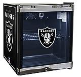 Glaros Officially Licensed NFL Beverage Center / Refrigerator - Oakland Raiders