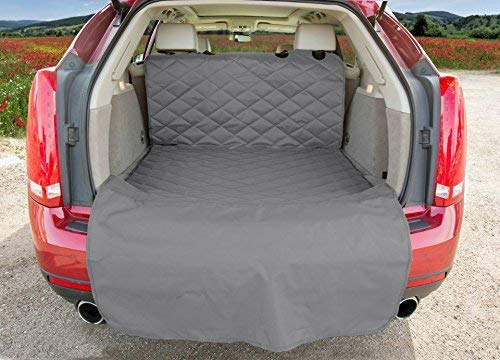 - 4Knines SUV Cargo Liner for Dogs - USA Based Company (Large, Grey)