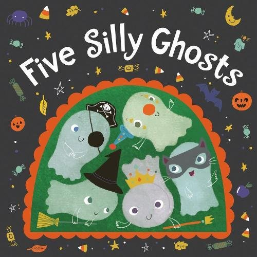 Five Silly Ghosts (board book)