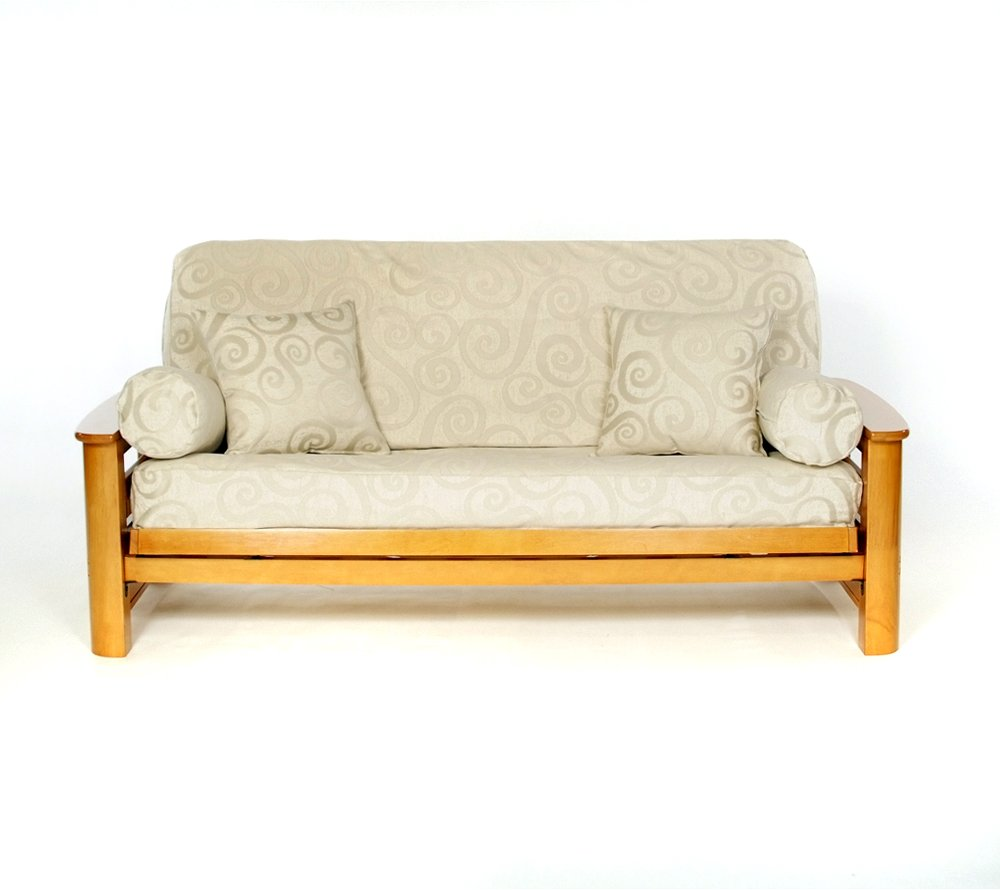 Lifestyle Covers ABBYF Abby Futon Slipcover Royal Heritage Home