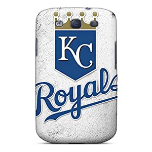 Scratch Resistant Hard Phone Cover For Samsung Galaxy S3 With Unique Design Nice Kansas City Royals Pictures KellyLast