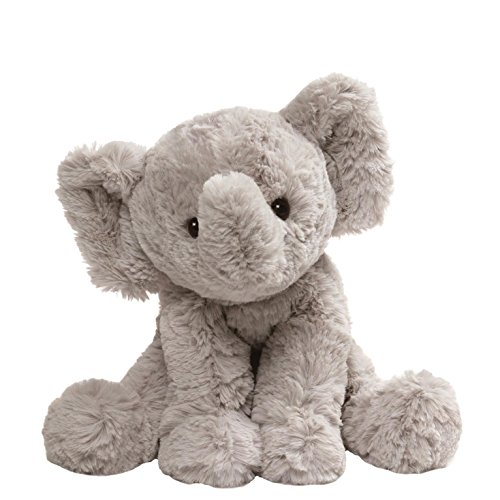 GUND Cozys Collection Elephant Stuffed Animal Plush, Gray, - Toy Dog White Gund