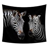kaige Tapestry Zebra Picture Tablecloth Beach Towel