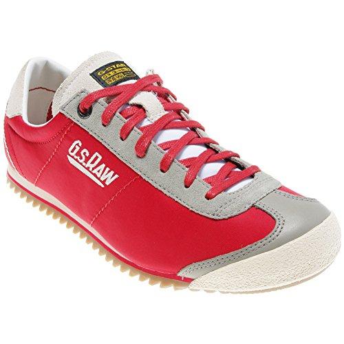 G-STAR RAW Strut Logo 6, Sneaker Uomo Rosso