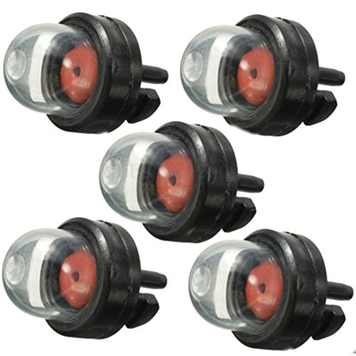 UTP 5pcs Petrol Snap in Primer Bulb Fuel Pump Bulbs for Chainsaws Blowers Trimmer Chainsaw Carburetor