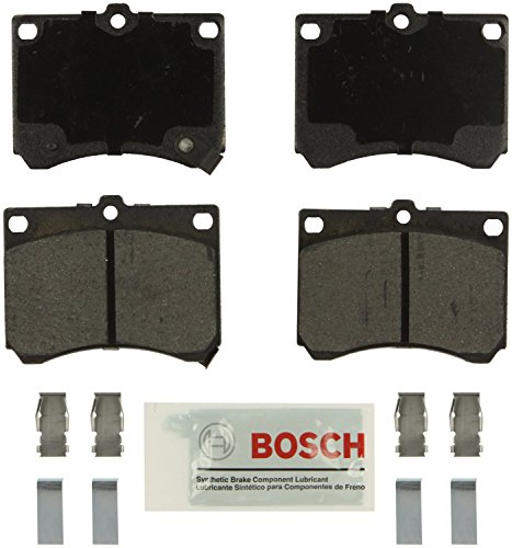 Bosch BE473H Blue Disc Brake Pad Set with Hardware - 1991 Ford Tracer Escort Mercury