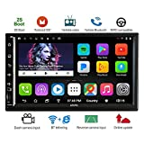 ATOTO A6 2DIN Android Car Navigation Stereo with Dual Bluetooth - Standard A62710SB 1GB+16GB Car Entertainment Multimedia Radio,WiFi/BT Tethering internet,support 256G SD &more