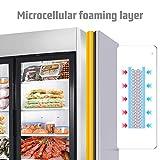 2 Glass Door Merchandiser Freezer - KITMA 49