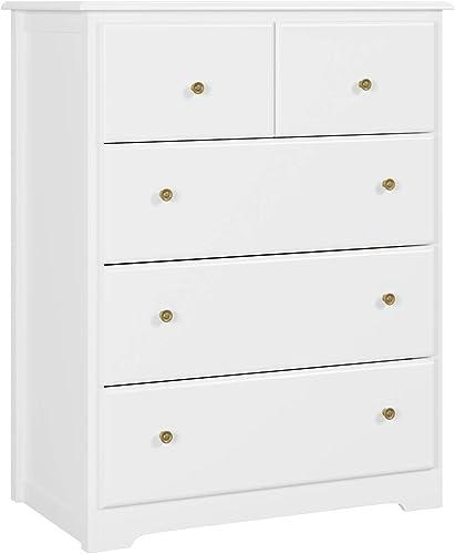 HOMECHO 5 Drawer Chest - the best bedroom dresser for the money