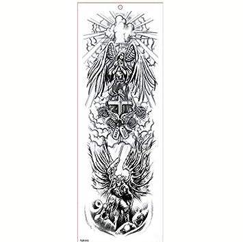 Tatuajes Temporales Niños Monstruos Gran Brazo Manga Tatuaje ...