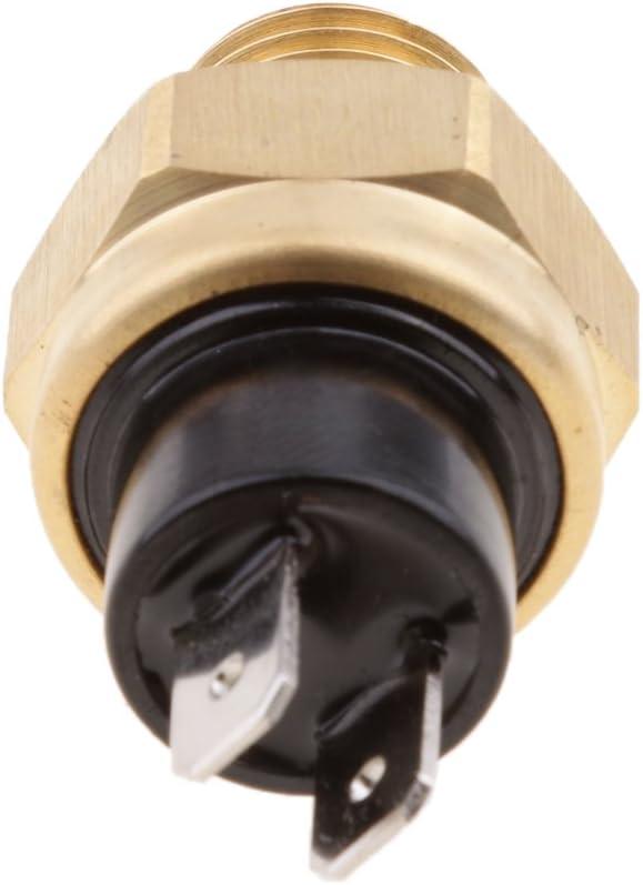 H HILABEE 2X Motorrad K/ühlmittel Temperatur Sensor Schalter Thermoschalter f/ür KTM//Husqvarna//Husaberg 2-Takt und 4-Takt