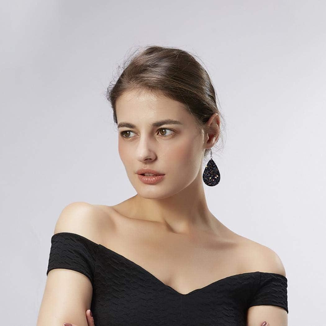 Idomeo Women Elegant Multicolor Natural Stone Dangle Earrings Drop /& Dangle