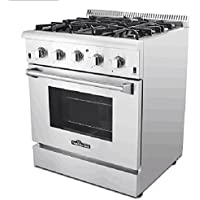 Thor Kitchen Professional 30 HRG3026U 4.2cu. ft. Oven 4 Burners Gas Range