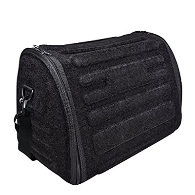 NEW ARRIVAL- CAR PASS Universal Waterproof Durable Collapsible Cargo Storage,Foldable Car Trunk Organizers,Great for Car,SUV,Truck,Jeep,Minivan,Home (Elegant Black): Home Improvement