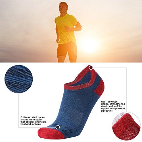 Running Socks Low Cut 3street Unisex Athletic Comfort No-Show Short Socks 1/4/6 Pairs