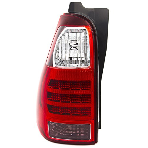 CarPartsDepot Fit 06-08 Toyota 4Runner SUV Rear Tail Brake Light Lamp Driver Side TO2800172