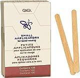 GiGi Small Applicators for Facial Waxing 100 ea (Pack of 12)