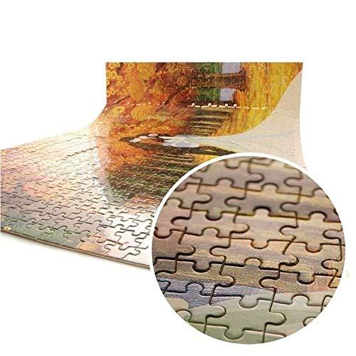 Lupovin Gemälde Puzzles 1000 Stück Holz Puzzles Puzzle-Spiel Erwachsene Kinder Interessantes Spielzeug Geschenk Perfect Family Schmuck