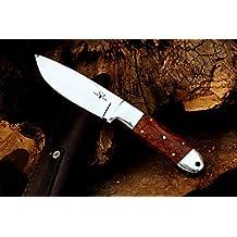 "Darby Creek Knife Co. Handmade ""5 Point Hunter"" Custom Snakewood & D2 Steel Hunting Knife"