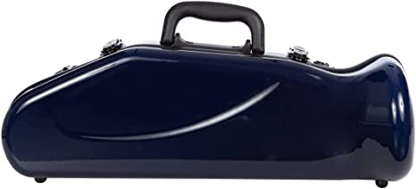 Estuche para trompeta fibra de vidrio Ultra Light C/B navy blue M-Case: Amazon.es: Instrumentos musicales