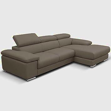 Amazonde L Förmige Sofa Leder Groß Ecke Set 4seater Lazy