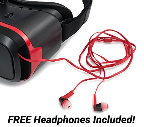 VR Headset for iPhone and Android Phones - Premium Virtual