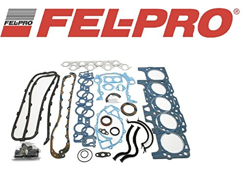 (Fel Pro Overhaul Gasket Kit compatible with 1968-78 BBF Ford 429 460 68-85 Big Block Ford Full gaskets)