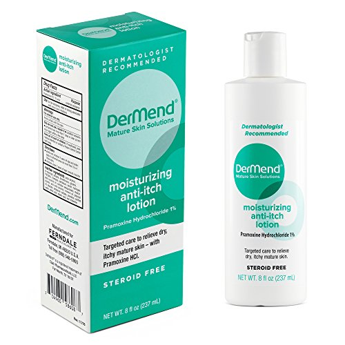 Lotion Itch Moisturizing Anti - Dermend Moisturizing Anti Itch Lotion Target Care for Dry, Itchy, Mature Skin 8 Ounces