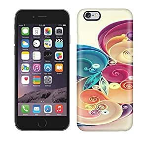 Best Power(Tm) HD Colorful Painted Watercolor Quilled Paper Ar Never Stop Dreaming Hard Phone Case For Iphone 6 Plus