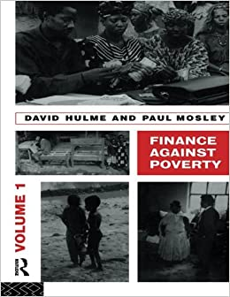 Finance Against Poverty: Volume 1