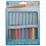 PONY Easy Grip Crochet Hook Set
