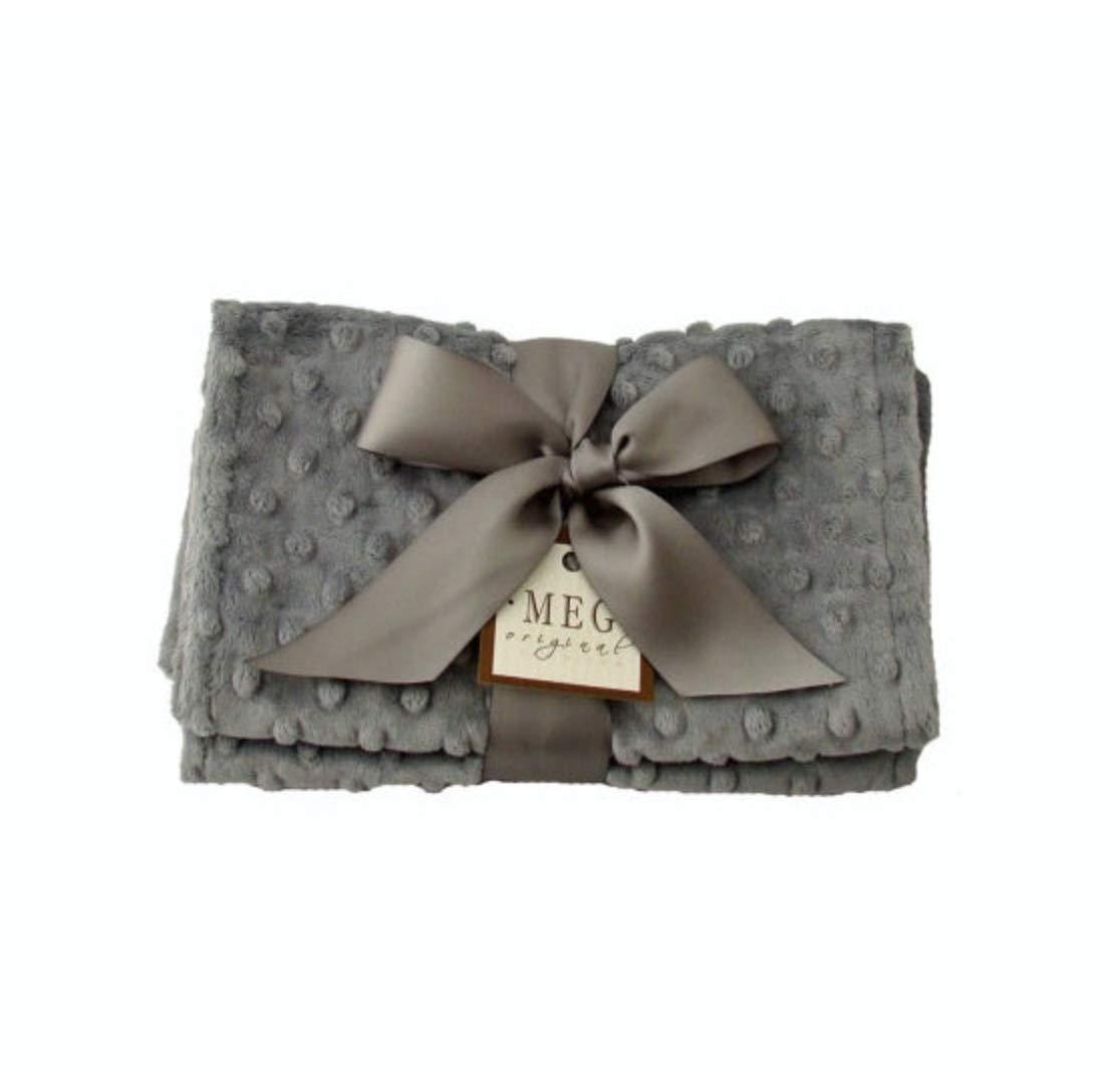 MEG Original Charcoal Gray Baby Burp Cloth Feeding Set, Dark Grey by MEG Original