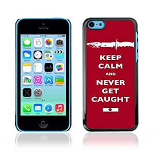 Designer Depo Hard Protection Case for Apple iPhone 5C / Keep Calm & Never Get Caught