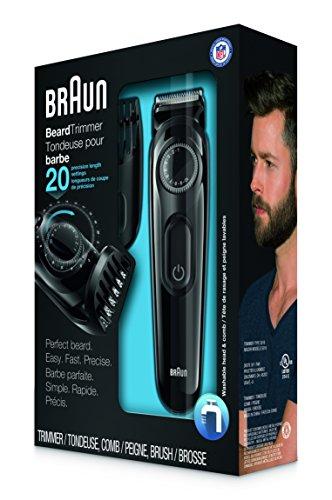 braun bt3020 beard trimmer for men perfect beard easy fast precise desertcart. Black Bedroom Furniture Sets. Home Design Ideas