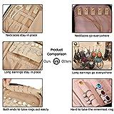 BAGSMART Jewelry Organizer Case Travel Jewelry