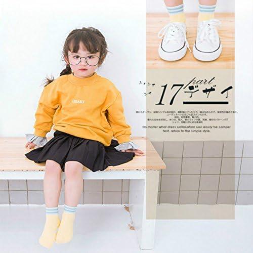 Monbedos 5 Paires Chaussettes pour Enfants Hiver Chaude Chaussette B/éb/é Chaussettes /épaisses Coton Chaussettes Thermiques pour Les Enfants de 3 /à 5 Ans