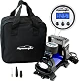 EPAuto 12V-DC Portable Air Compressor Pump, Digital Tire Inflator by 100 PSI