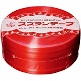 スズランテープ 470m 赤