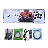 Video Game Console, Arcade Machine 999 Classic Games, 2 Players Pandora's box 5S multiplayer home Arcade Console 999 Games All in 1 NON-JAMMA PCB Double Stick Newest Design Buttons Power HDMI
