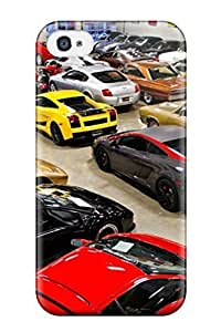 Ultra Slim Fit Hard JakeNC Case Cover Specially Made For Iphone 4/4s- Sport And Classic Cars hjbrhga1544