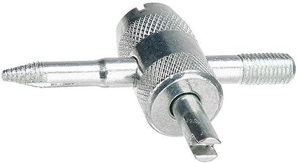 Balight Us Ventile Stem Installer Hd Chrome Werkzeug Abzieher Auto Reifen Plug Core Remover Reparatur Set Fahrrad Auto Motorrad Reifen Plug Core Remover Auto