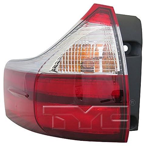 TYC 11-6754-00-1 Replacement Tail Lamp (TOYOTA SIENNA), 1 Pack (Toyota Sienna Third Brake Light)