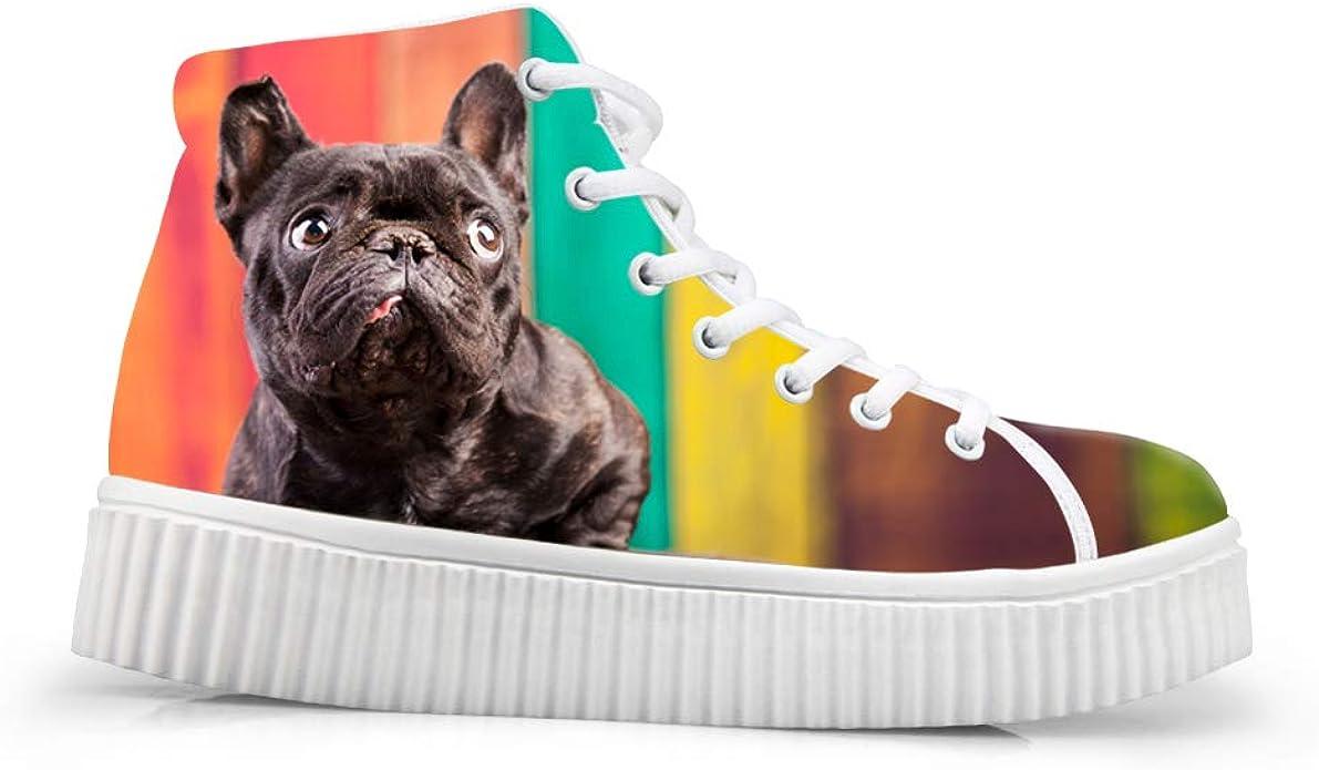 Coloranimal Women Fashion 3d Effect Cat Dog Trainers Platform Shoes Schuhe Handtaschen